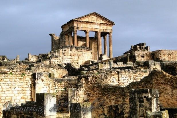Visitar las Ruinas de Dougga  Túnez