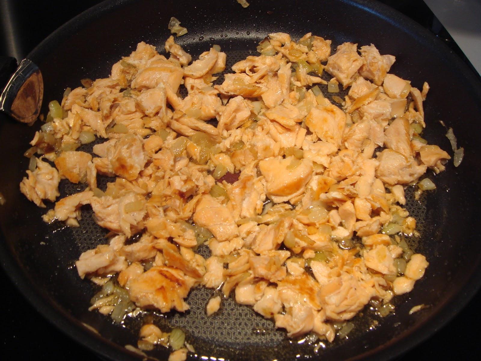 Les recettes d 39 emilie risotto au saumon et la cr me au parmesan - Absorber l humidite avec du riz ...