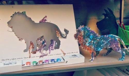 Kit de pintura El León de Cloe
