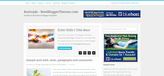 Azsimple Blogger Template is a Magasin Style Free Blogger Template