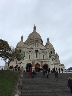Sacre Coeur auf dem Montmartre, Paris