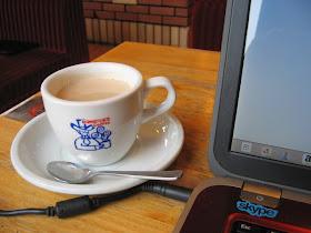 適度に長居できるコメダ珈琲でコーヒーミーティングを行いました!