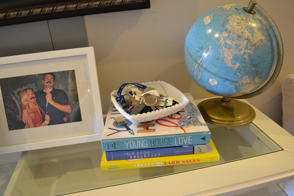 Young House Love Book Antique Globe: Design Your Entryway | DIY Playbook