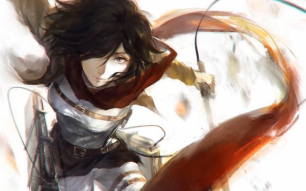 mikasa ackerman  attack on titan shingeki no kyojin anime hd wallpaper 1440x900