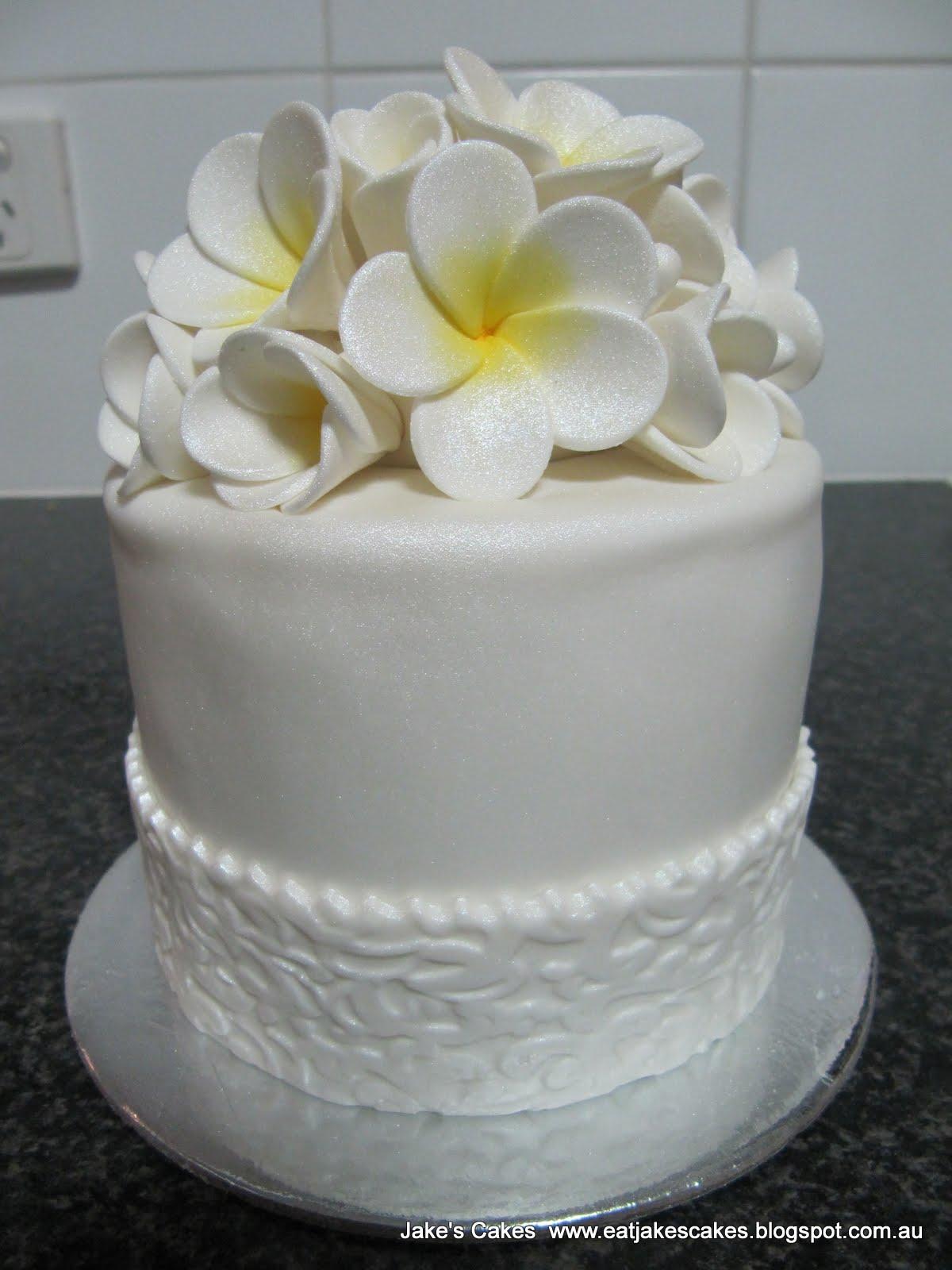 Jake S Cakes Frangipani Cake