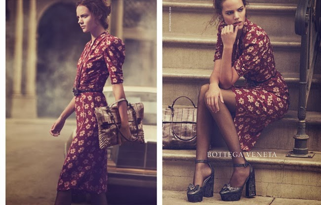 (Bottega Veneta Spring/Summer 2013 Campaign)