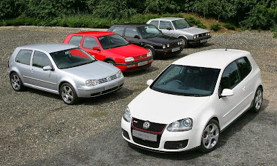 The Volkswagen Golf, my kryptonite