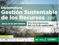 Diplomatura en Gestión Sustentable de Recursos (2ª Edición)