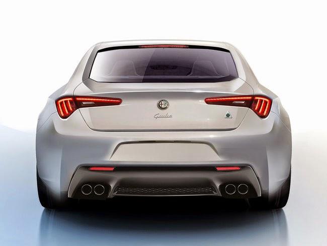 Passione Auto Italiane: Alfa Romeo Giulia 2015: render non ufficiali