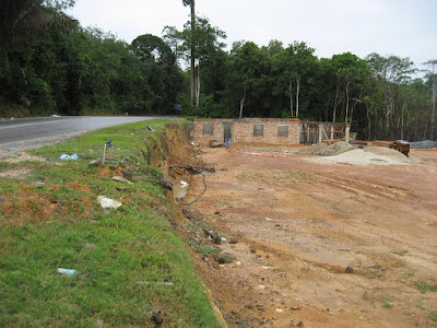 gambar rumah yang masih dalam pembinaan jadi viral