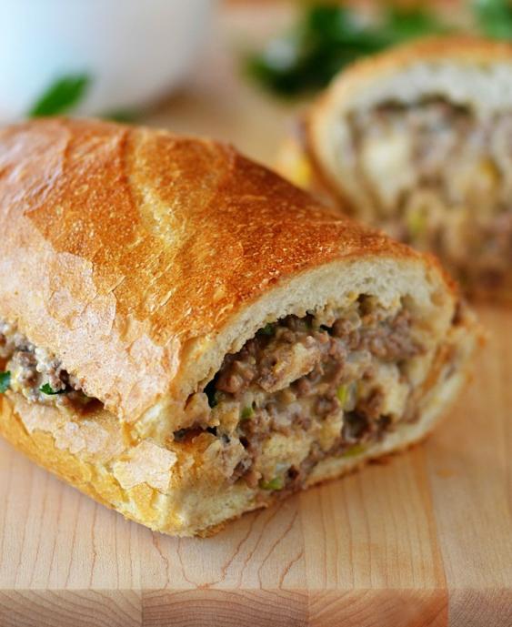 Stuffed French Bread Recipe