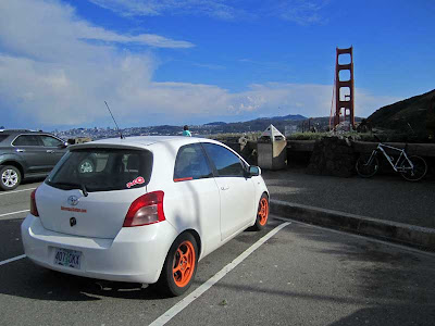 Yaris at Golden Gate Park