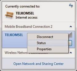 cara mengetahui ip connect modem huawei