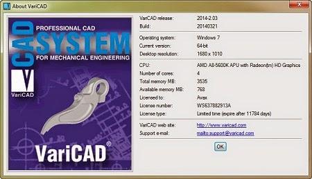 VariCAD 2.03 2014 full version download