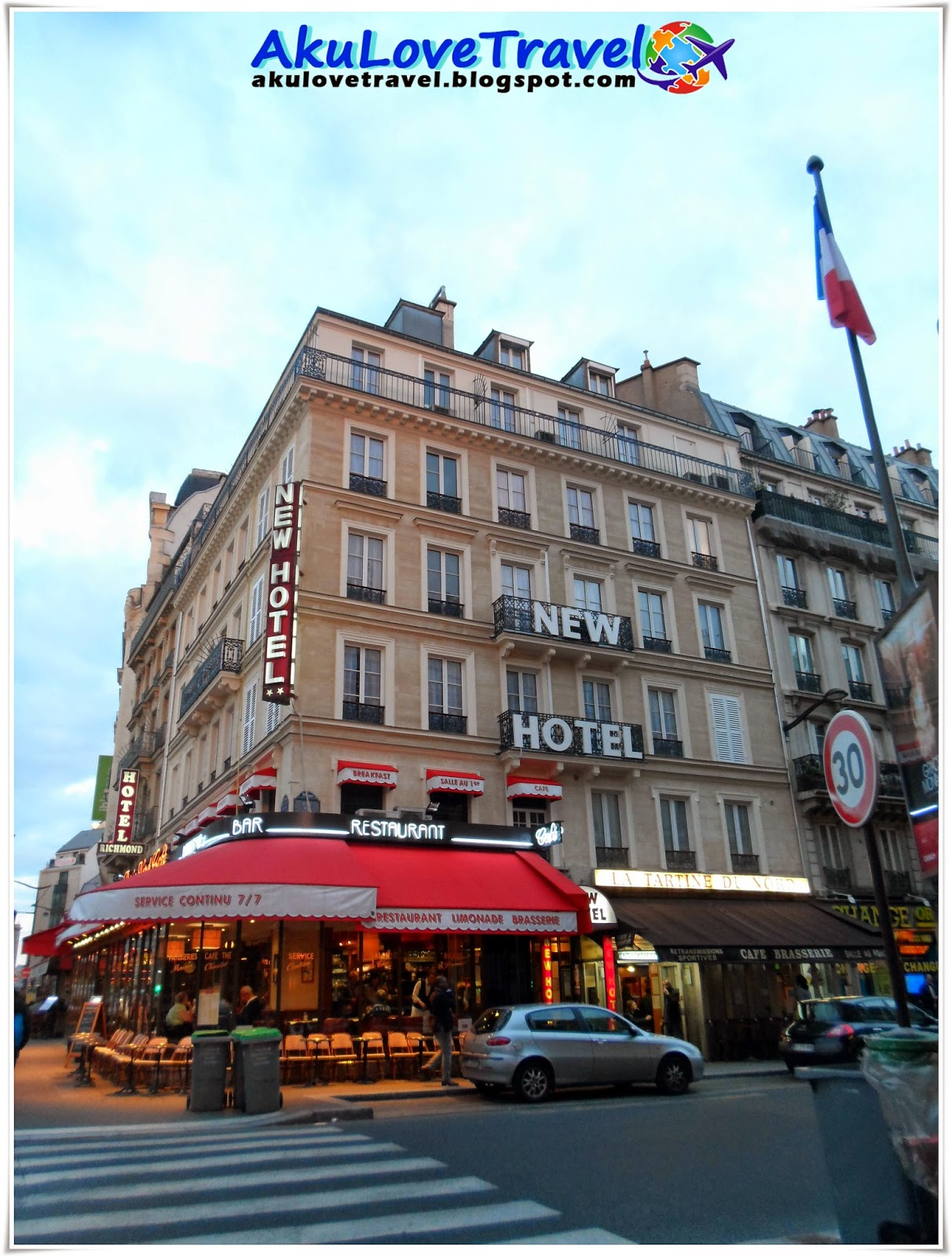 Travel And Food  France  Gare Du Nord  Paris