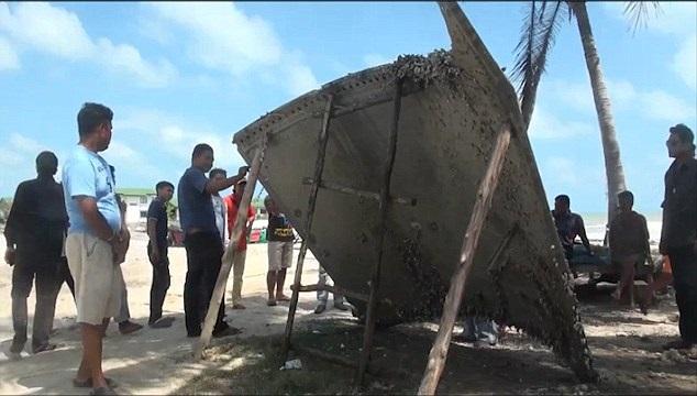 MH370 Nakhon Si Thammarat, Thailand