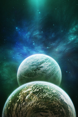 Cosmic & Galaxy HD Wallpapers for iPhone