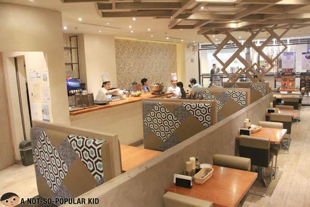 Tokyo Tonteki Interior - Greenbelt, Makati