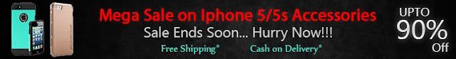 Limestone.com:Mega Sale On Iphone 5/5S Accessories Upto 90% off:buytoearn