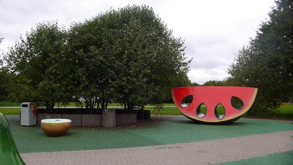 Фруктово-ягодная детская площадка