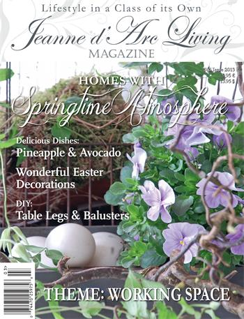 jeanne d'arc living magazine