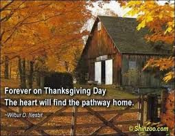 Familiar Thanksgiving Wishes Quotes