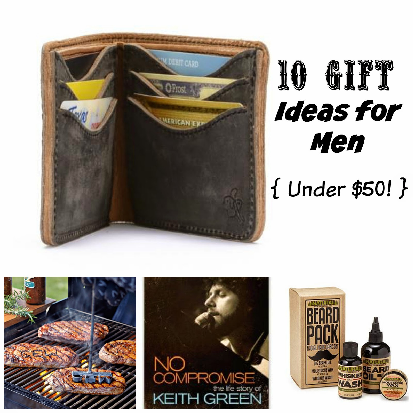 Where Joy Is : 10 Gift Ideas for Men Under $50