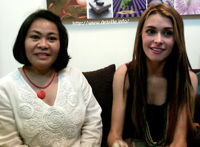 Diana Stalder: 15th Year Anniversary Mall Tour with Daiana Menezes and Tibo of PBB 10