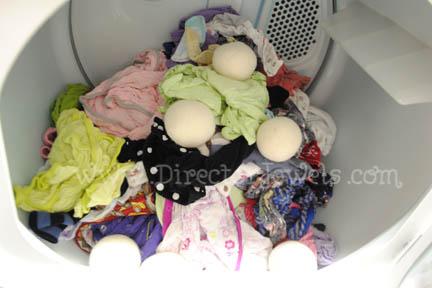 woolzies dryer balls instructions