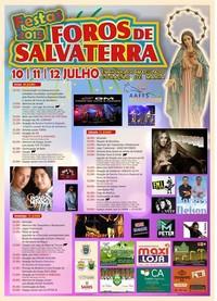 Foros de Salvaterra- Festas em Hª do Imaculado Coração de Maria 2015- 10 a 12 Julho