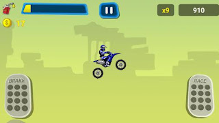 Screenshots of the Extreme hill rider for Android tablet, phone.