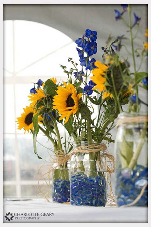 Blue And Yellow Wedding Ideas : Gotcha covered summer wedding trends