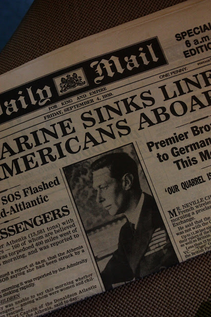daily mail outbreak of second world war
