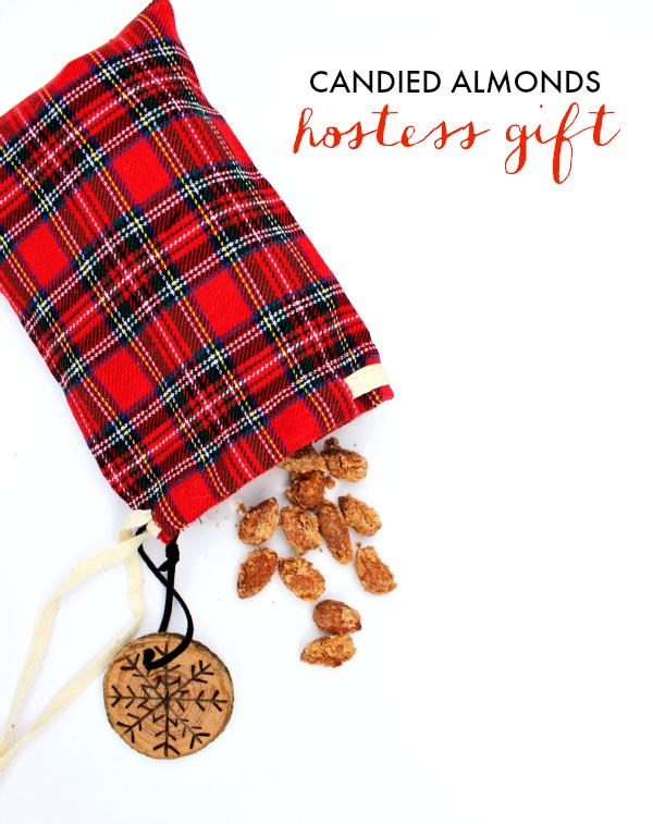 DIY Candied Almonds Hostess Gift