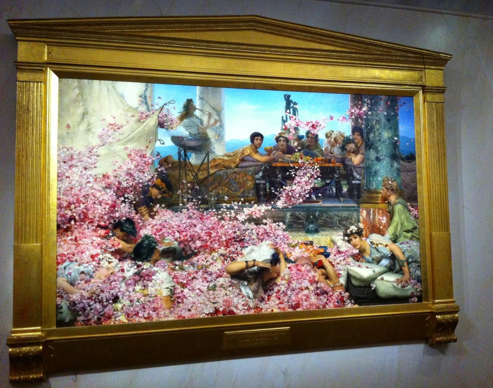 Alma Tadema Roses Heliogabale
