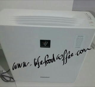 SHARP Air Purifier FU-A28E28E www.lifefoodcoffee.com
