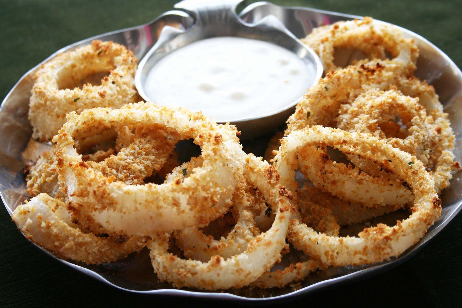 Mama Grubbs Grub: Baked Onion Rings