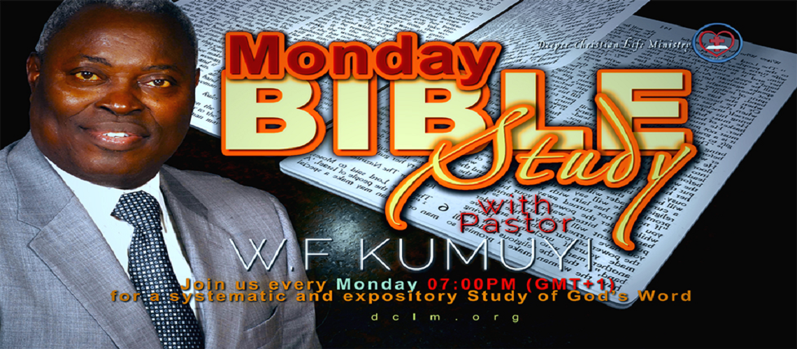 Join Pastor Kumuyi Bible Study
