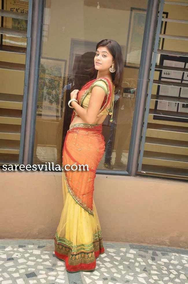 Yamini In Designer Half Saree