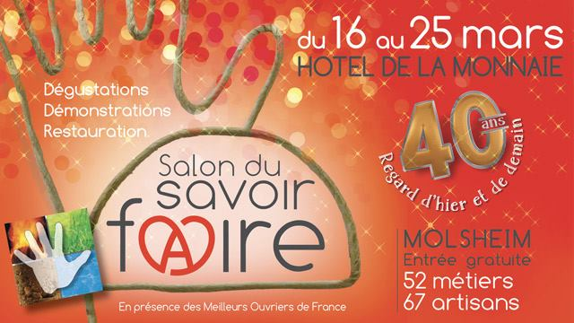 Le Salon du Savoir Faire fête ses 40 ans !