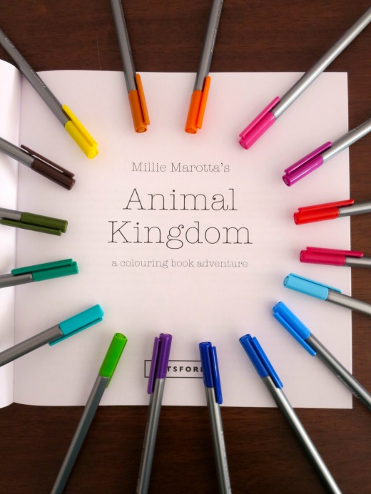 Millie Marotta's Animal Kingdom colouring book