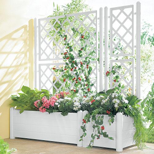 Como fazer uma treliça  Dica de decoração de jardim