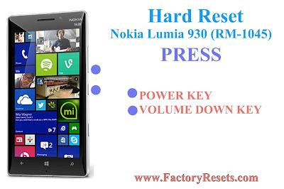 Hard Reset Nokia Lumia 930