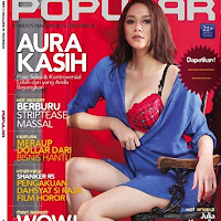 Gambar Aura Kasih Popular 2011 Hot And Sexy majalah popular edisi april 2011