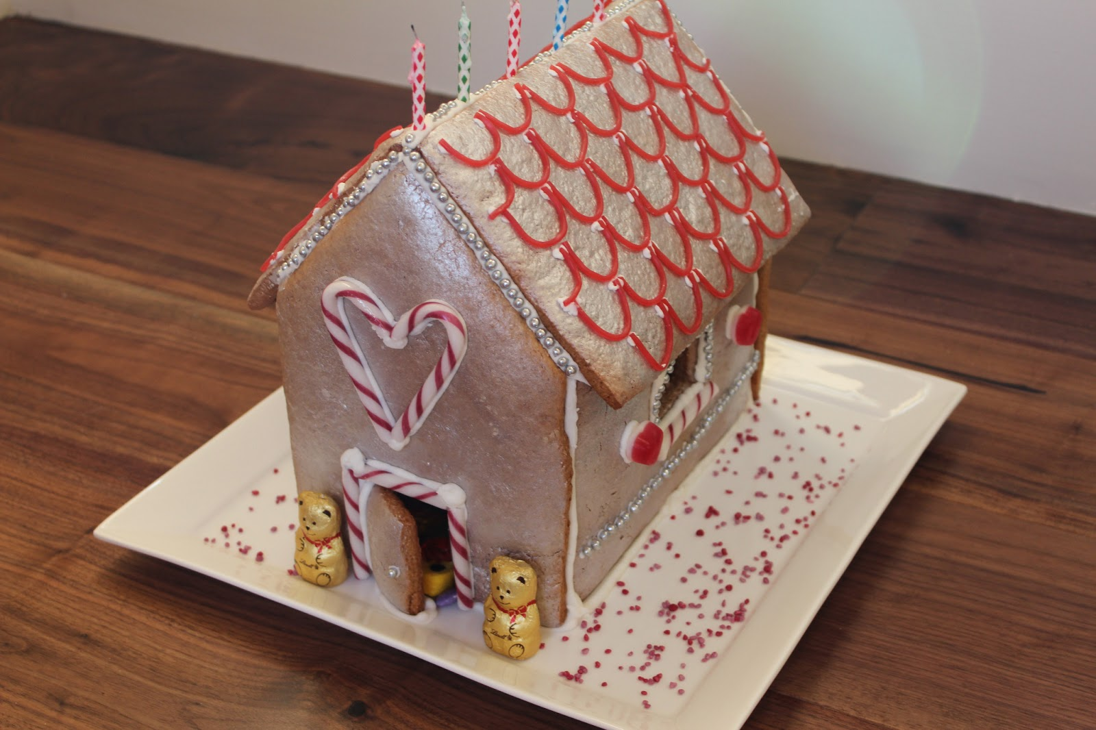 Cathy Makes Gingerbread House Birthday Cake
