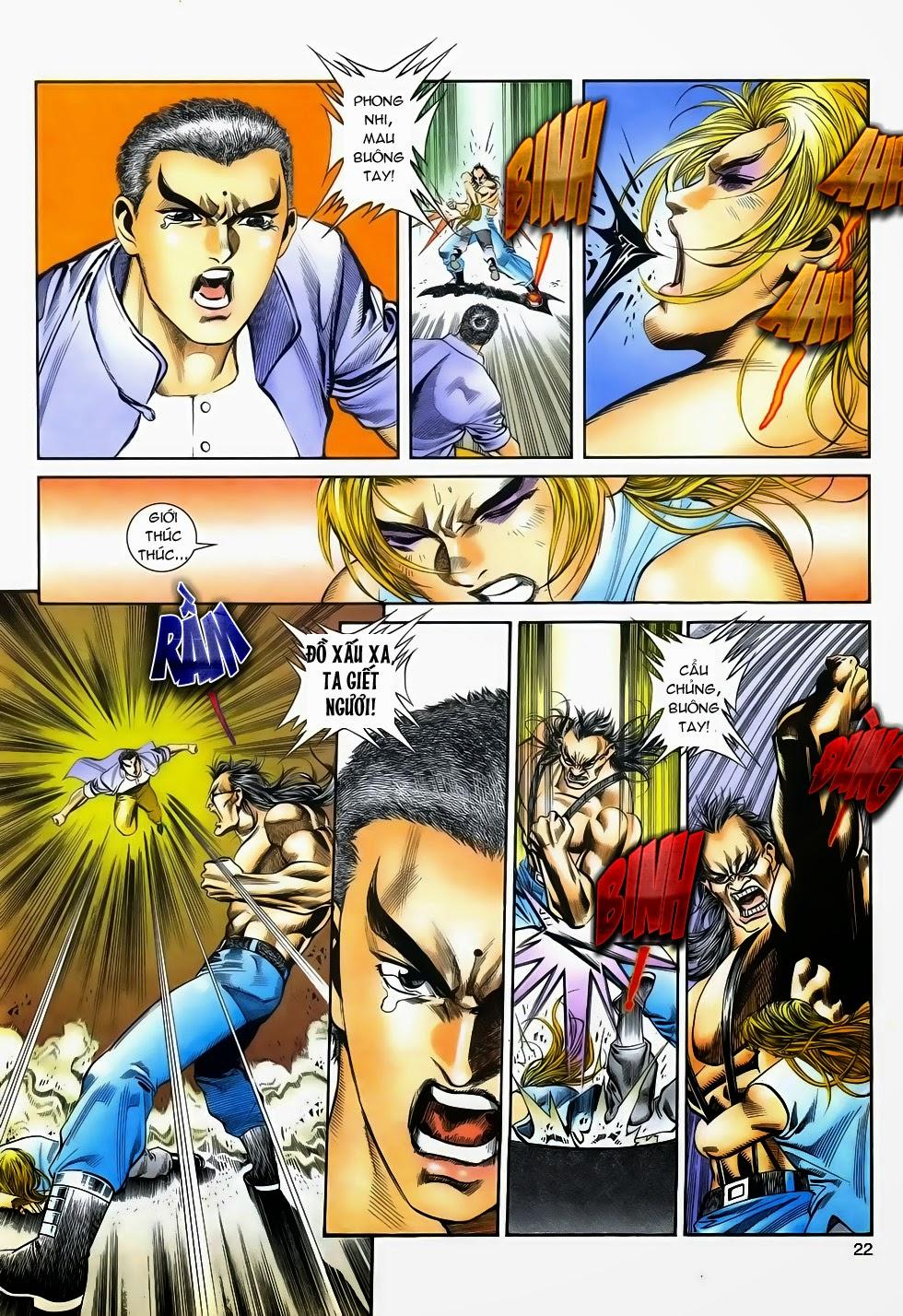 Long Hổ Phong Bạo chap 3 - Trang 22