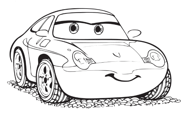 Kumpulan Gambar Mewarnai Film Disney Cars Terbaru Untuk Anak Anak