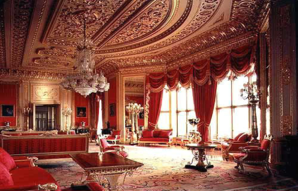 gallery for buckingham palace private apartments