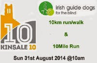 31st Aug...Charity 10k & 10m nr Kinsale, Co.Cork