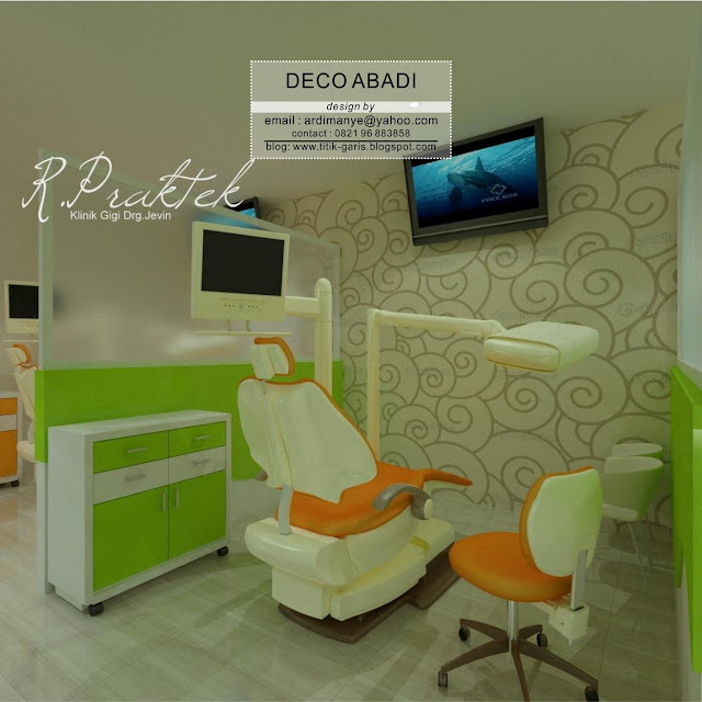 desain interior dental care